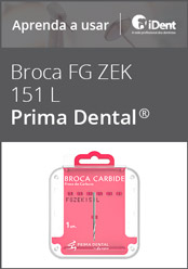 Aprenda a usar: Broca Carbide FG ZEK 151L da Prima Dental