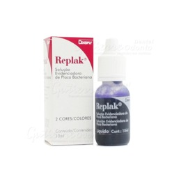 Evidenciador de Placa Replak Solucao 10ml