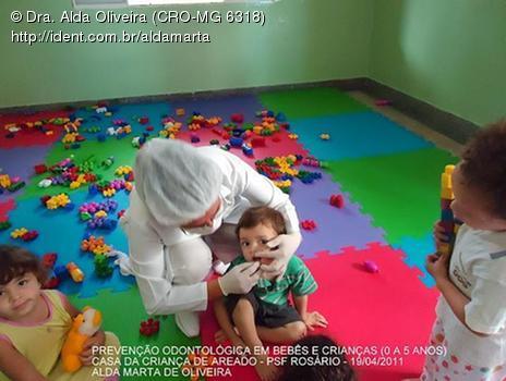 Prevenção Odontológica em Bebês e Crianças (0 a 5 Anos)