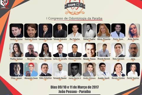 I Congresso de Odontologia da Paraíba