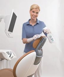 Limpeza e conservação da cadeira - FD 360