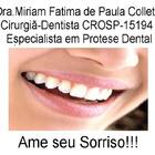 Dra. Miriam Fatima de Paula Collette (Cirurgiã-Dentista)