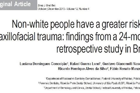 Brasilian Journal of Oral Science. v.12, n.4, october/december 2013.