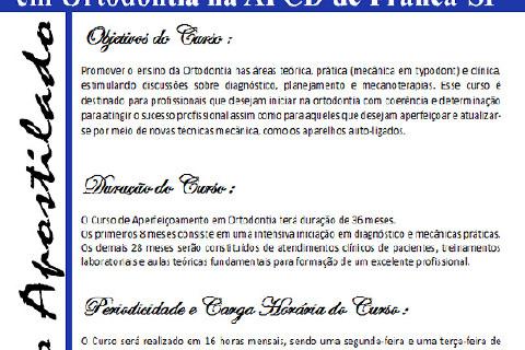 Curso que fundamenta o profissional para os primeiros passos na Ortodontia - Técnica Straight-Wire... Obtenha mais informações no site : www.excellenceortodontia.com.br