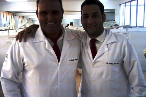 Eu e meu parceiro Gabriel Alves